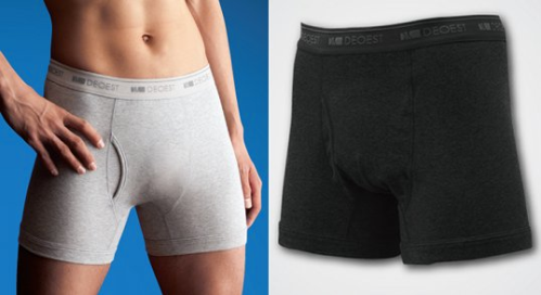 Killing some 95% of gas and sweat and other foul odors, this is the perfect underwear for people who worry about how they smell!