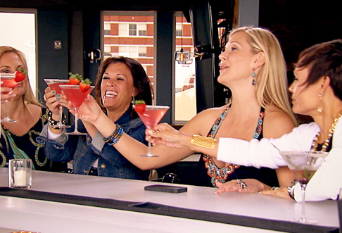 Cheers to successfully alienating Leslie for the third season in a row.