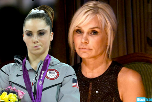 Yolanda & McKayla are still not impressed.