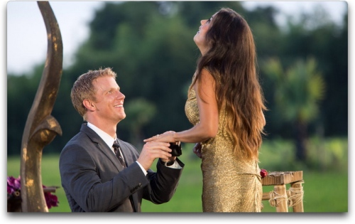 The most awesome proposal in Bachelor history.