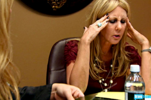 All the whining is giving Vicki a headache... and she's not talking about Troy.