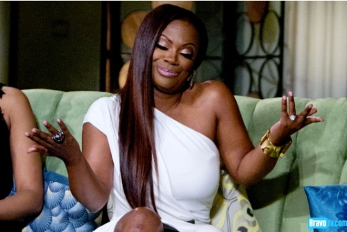 When asked which feud was dumber Kenya's and Porsha's or Kenya's and Phaedra's even Kandi thinks it's a tie.