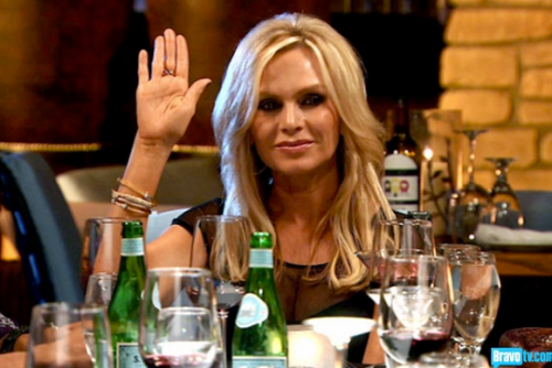 Raise your hand if you think I won't make it through appetizers without insulting someone.