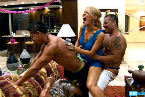 Yes, the strippers were clearly for Tamra's enjoyment.