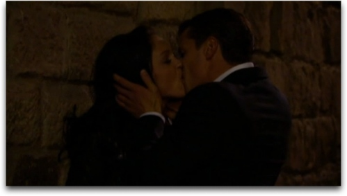 The most dramatic kiss in bachelorette history.