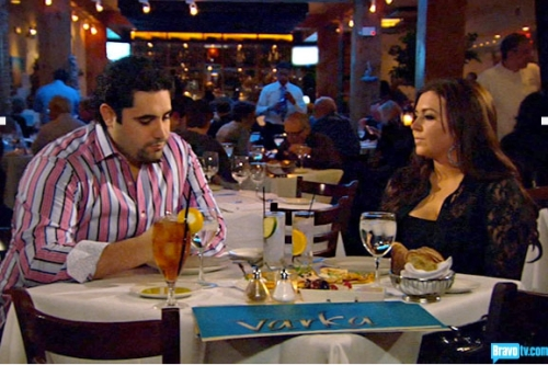 An awkward dinner out for Lauren and Vito turns into talk slowing the pace of their relationship