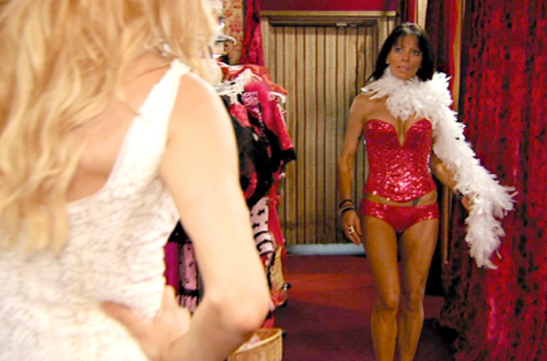 Brandi's not sure if Carlton's husband will like it, but she sure does.