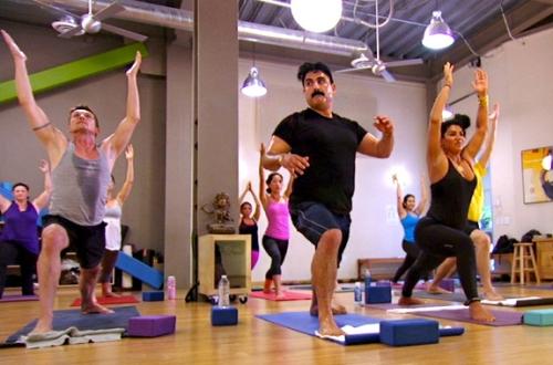Reza's pretty sure yoga was not in his contract.