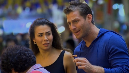 The awkward moment when Sharleen realizes her IQ is twice that of Juan Pablo's.