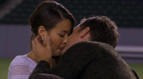 Most awkward kiss in Bachelorette history.