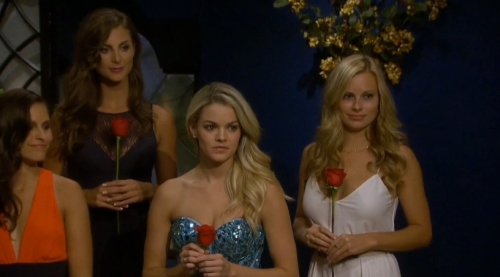 Careful there, Nikki, Alli is seriously eyeing that rose of yours.