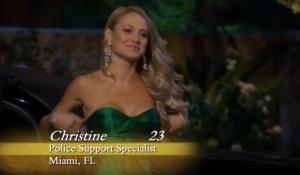 Christine, 23