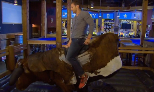 Juan Pablo should be well acquainted with bull at this point.
